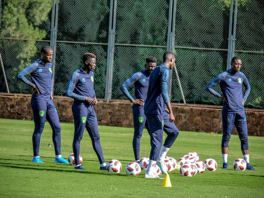 تدريبات المنتخب الوطني بالمغرب عقب لقاء الأمس (FFRIM)