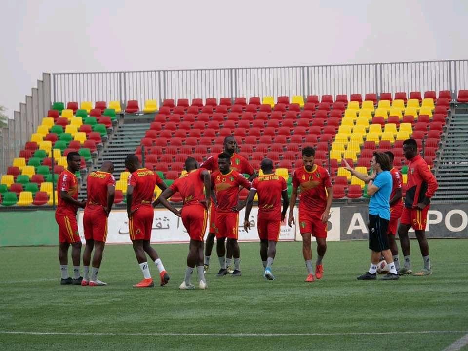 المنتخب الوطني يضع لمساته الأخيرة قبل مواجهة إفريقيا الوسطى(FFRIM)