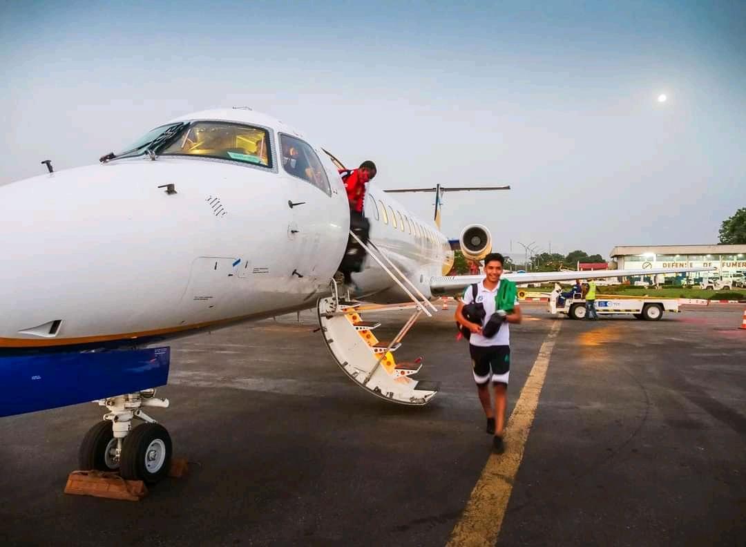 وصول بعثة المرابطون لعاصمة افريقيا الوسطى بانغي) FFRIM(