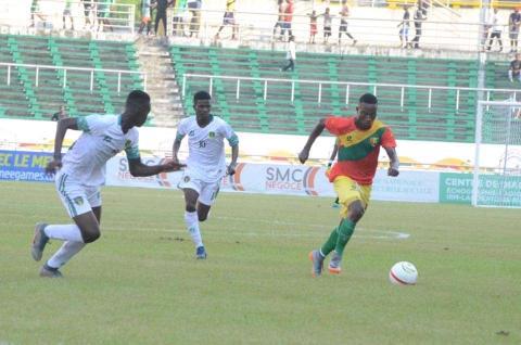 المنتخب الوطني خسر لقاءه الأول أمام المنتخب الغيني(FFRIM)