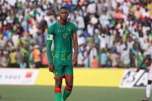 تقي الله الدنه لاعب المنتخب الوطني (مواقع التواصل)