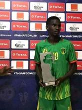 عمر امبارك افضل لاعب في افتتاح كاس افريقيا للأمم U20 (مواقع التواصل)